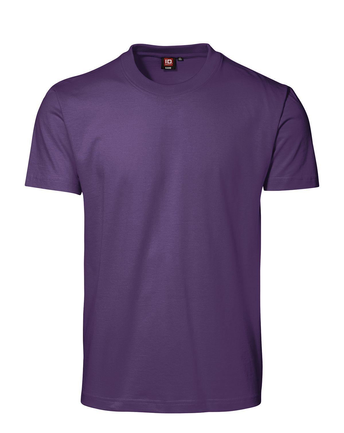 ID GAME T-shirt (Lila, XL)