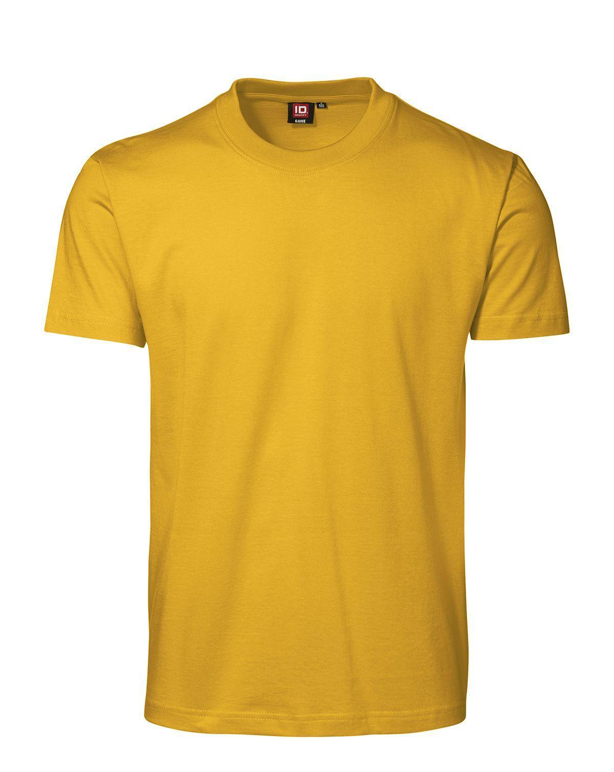 ID GAME T-shirt (Gul, XL)