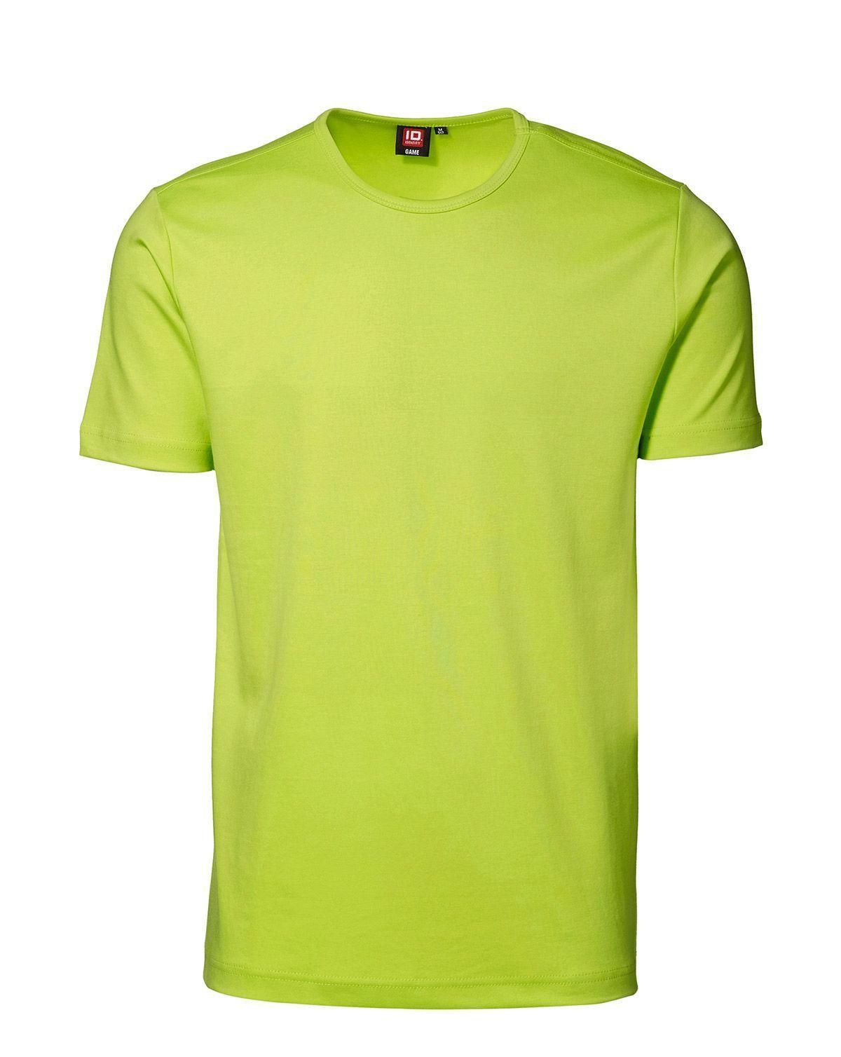 ID Interlock T-shirt (Lime, XL)