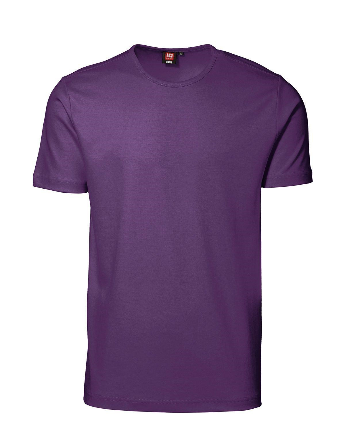 ID Interlock T-shirt (Lila, XL)