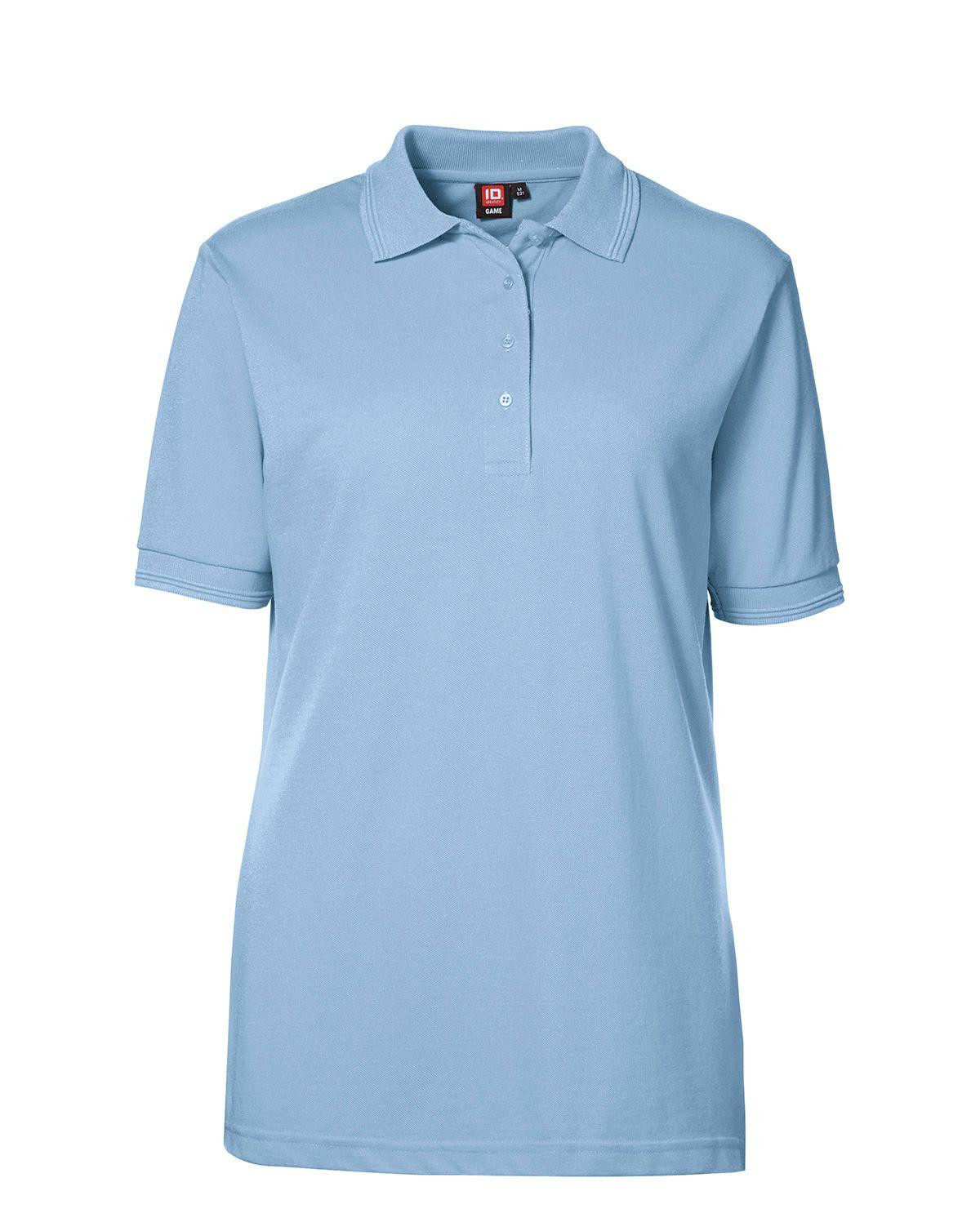 Image of   ID Klassisk Polo (Lyseblå, 2XL)