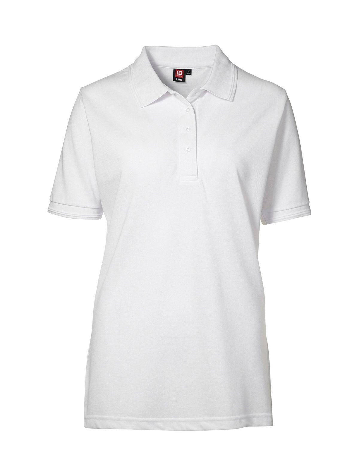 Image of   ID Klassisk Polo (Hvid, S)
