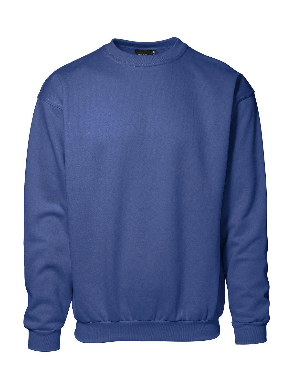 ID Klassisk Sweatshirt, Slitstark (Kungsblå, XL)