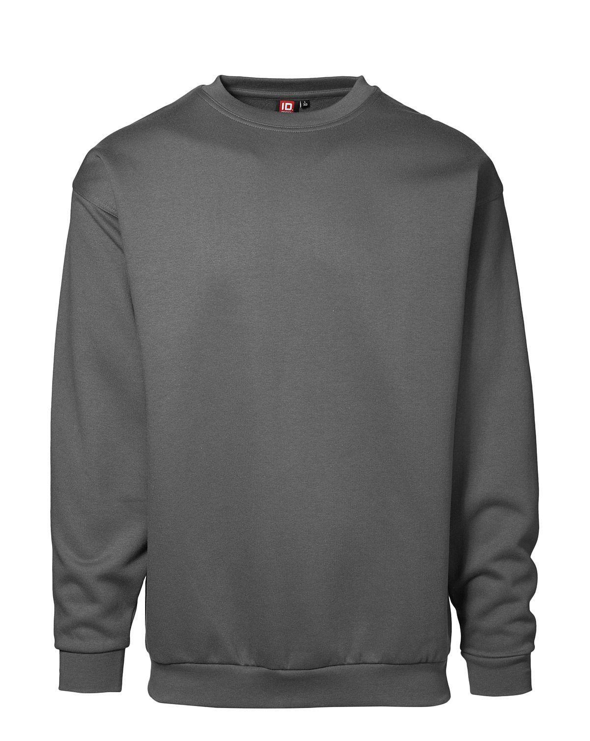 Billede af ID PRO Wear Sweatshirt (Sølv Grå, XS)