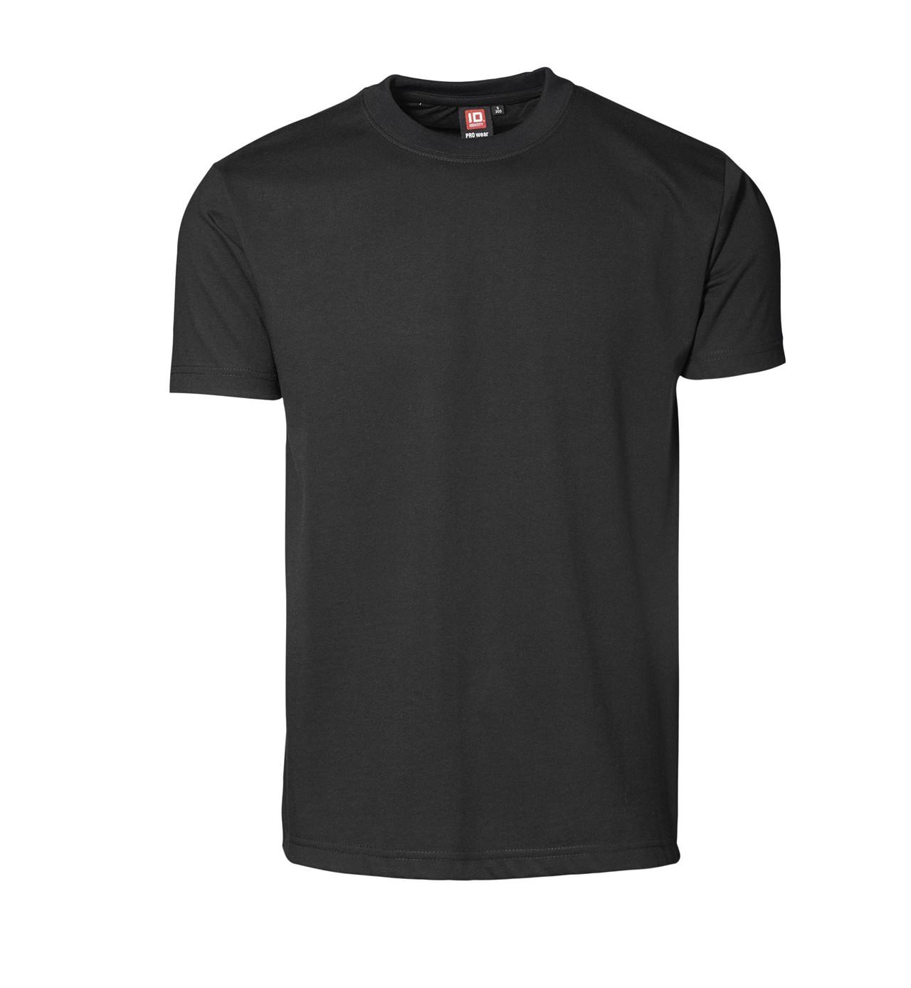 Image of   ID PRO Wear T-shirt til Herre (Sort, 2XL)