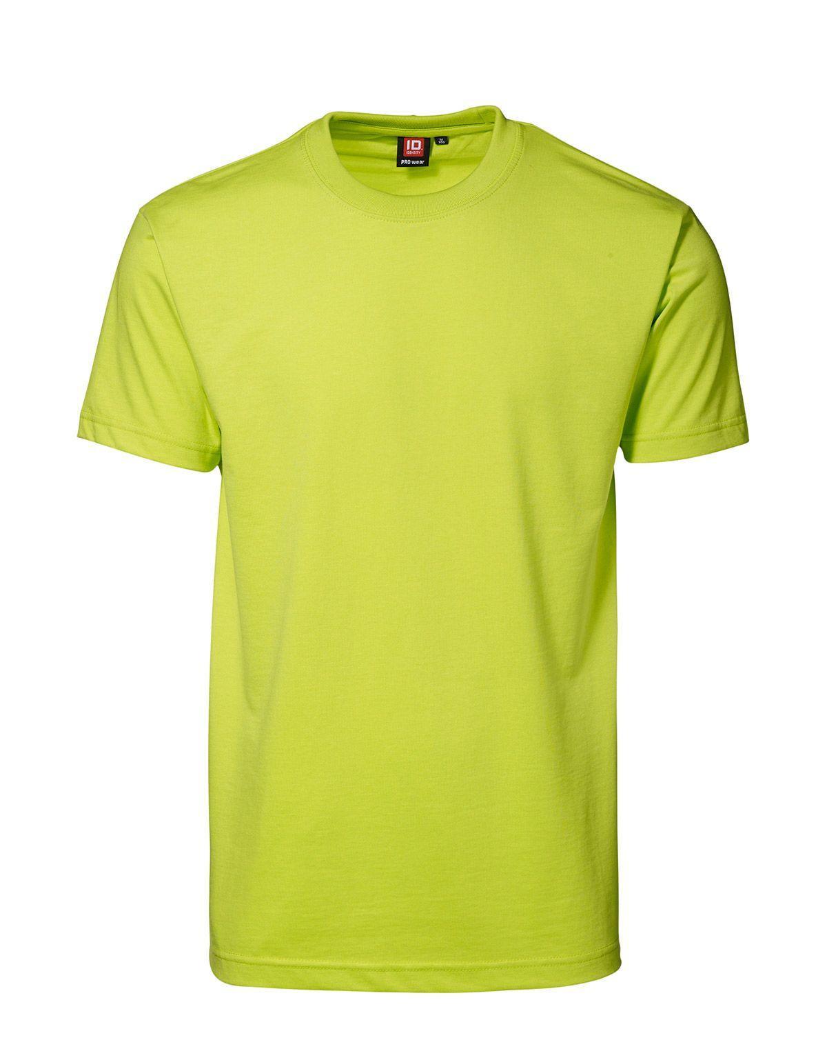 ID PRO Wear T-shirt för Herrar (Lime, XL)