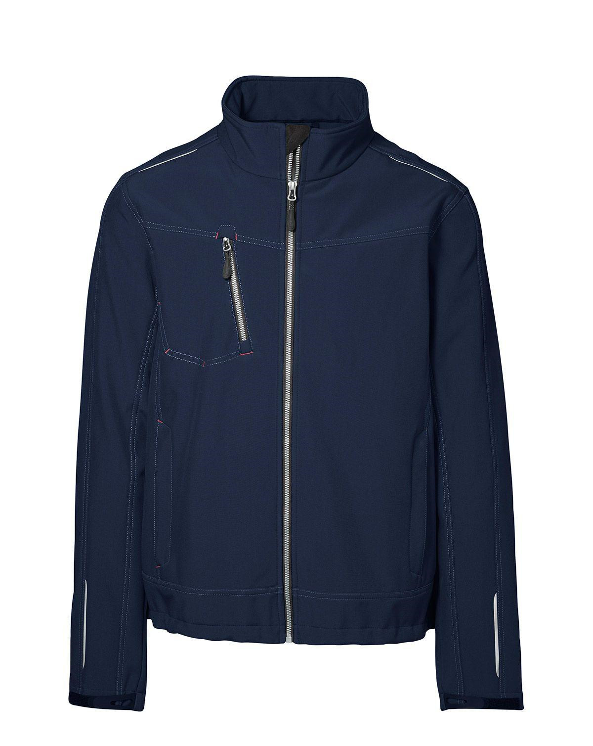 Image of   ID Softshell Jakke (Navy, 2XL)