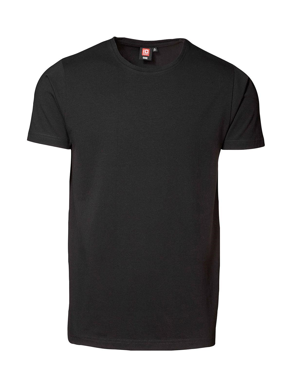 ID Stretch T-shirt (Sort, XL)
