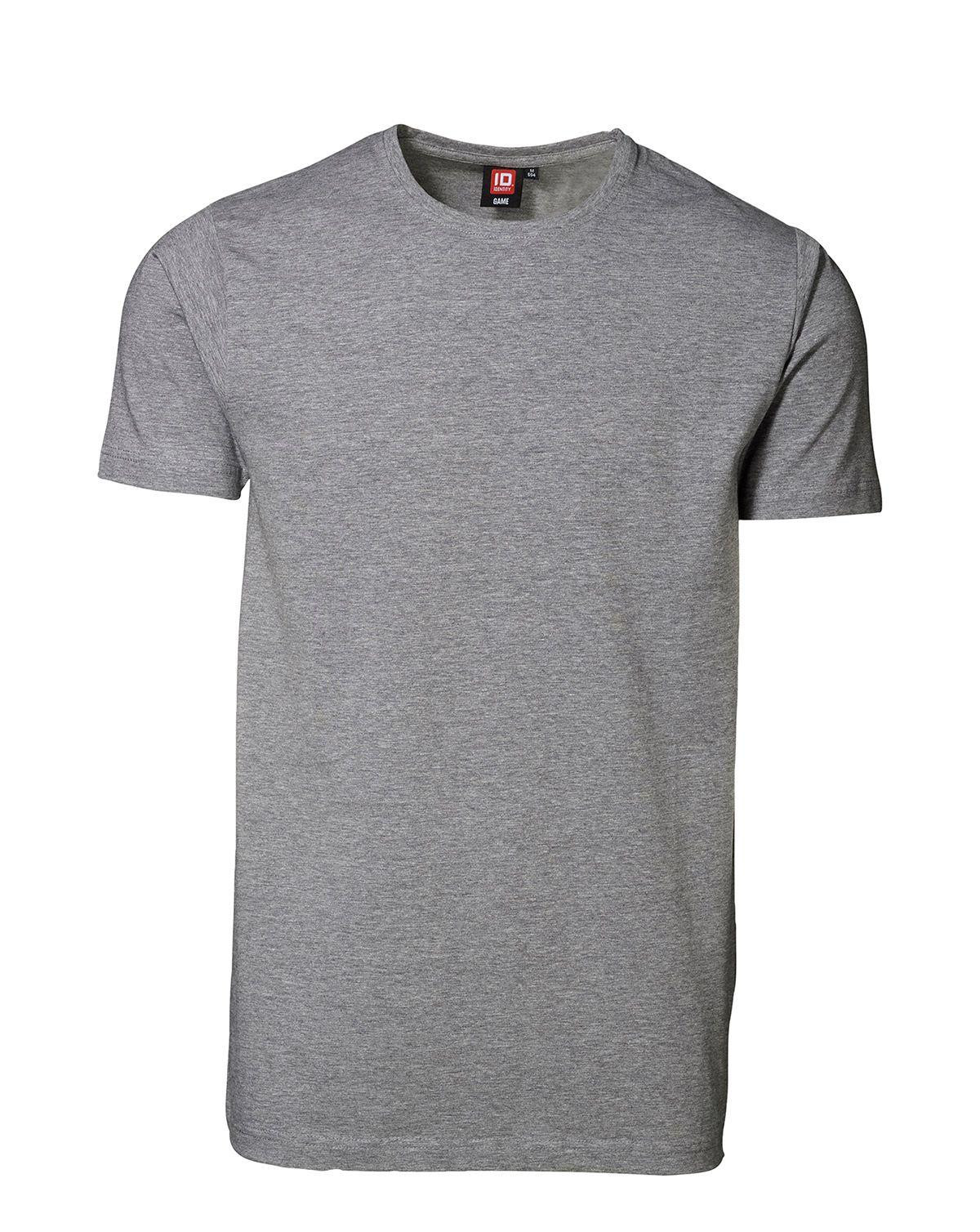 ID Stretch T-shirt (Grå Meleret, XL)