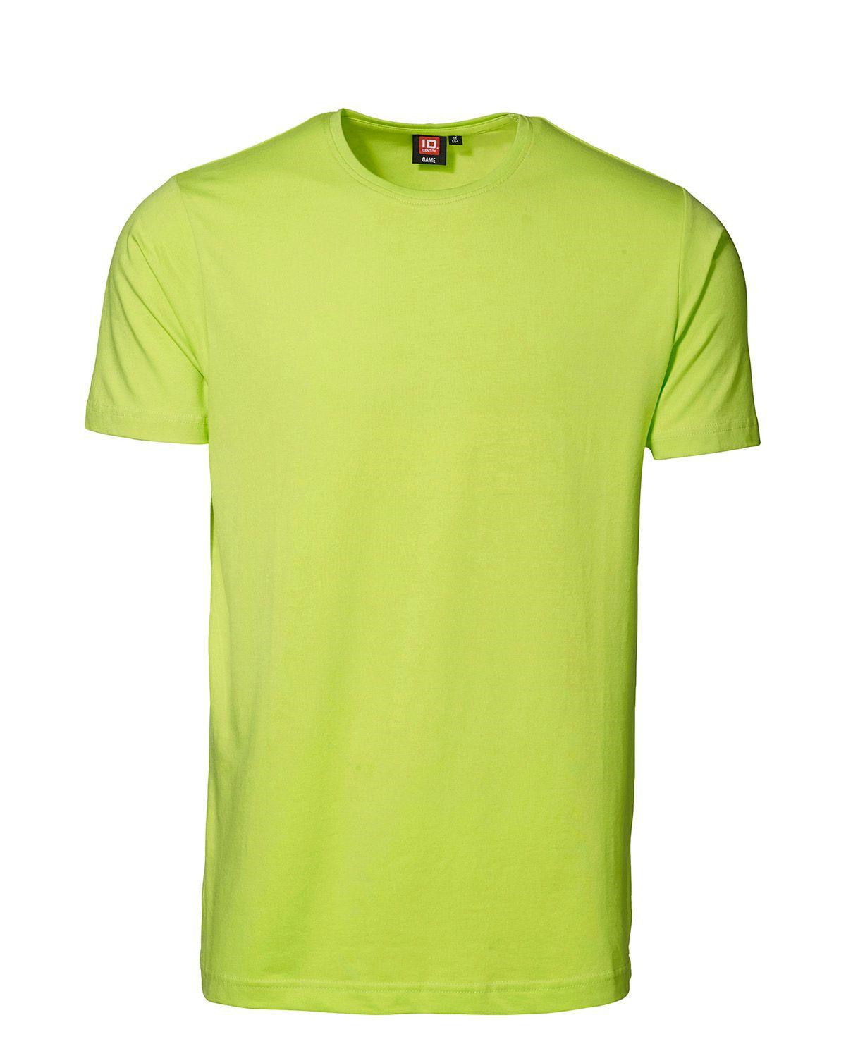 ID Stretch T-shirt (Lime, M)