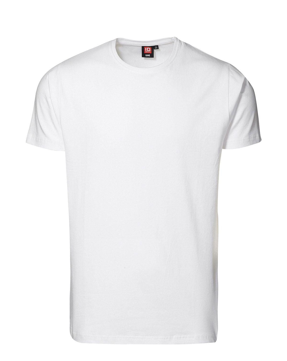 ID Stretch T-shirt (Hvid, M)