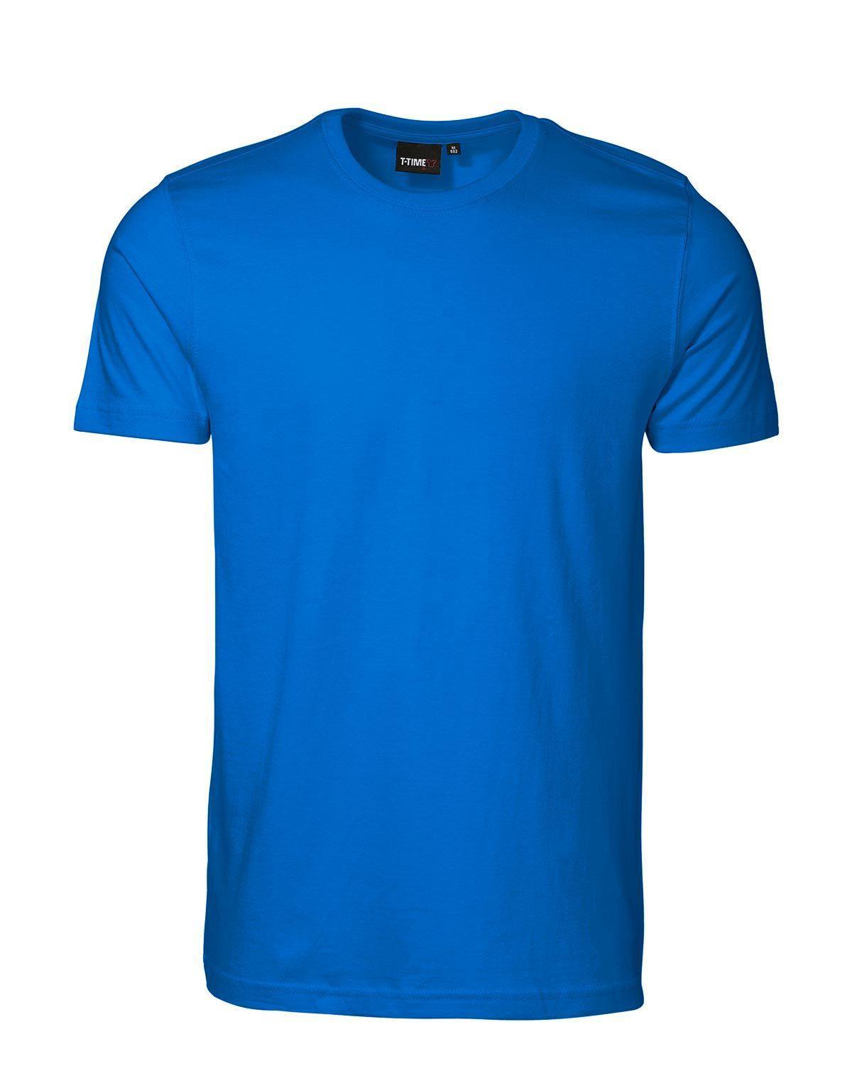 ID T-shirt, Sporty-Fit (Azure, 3XL)