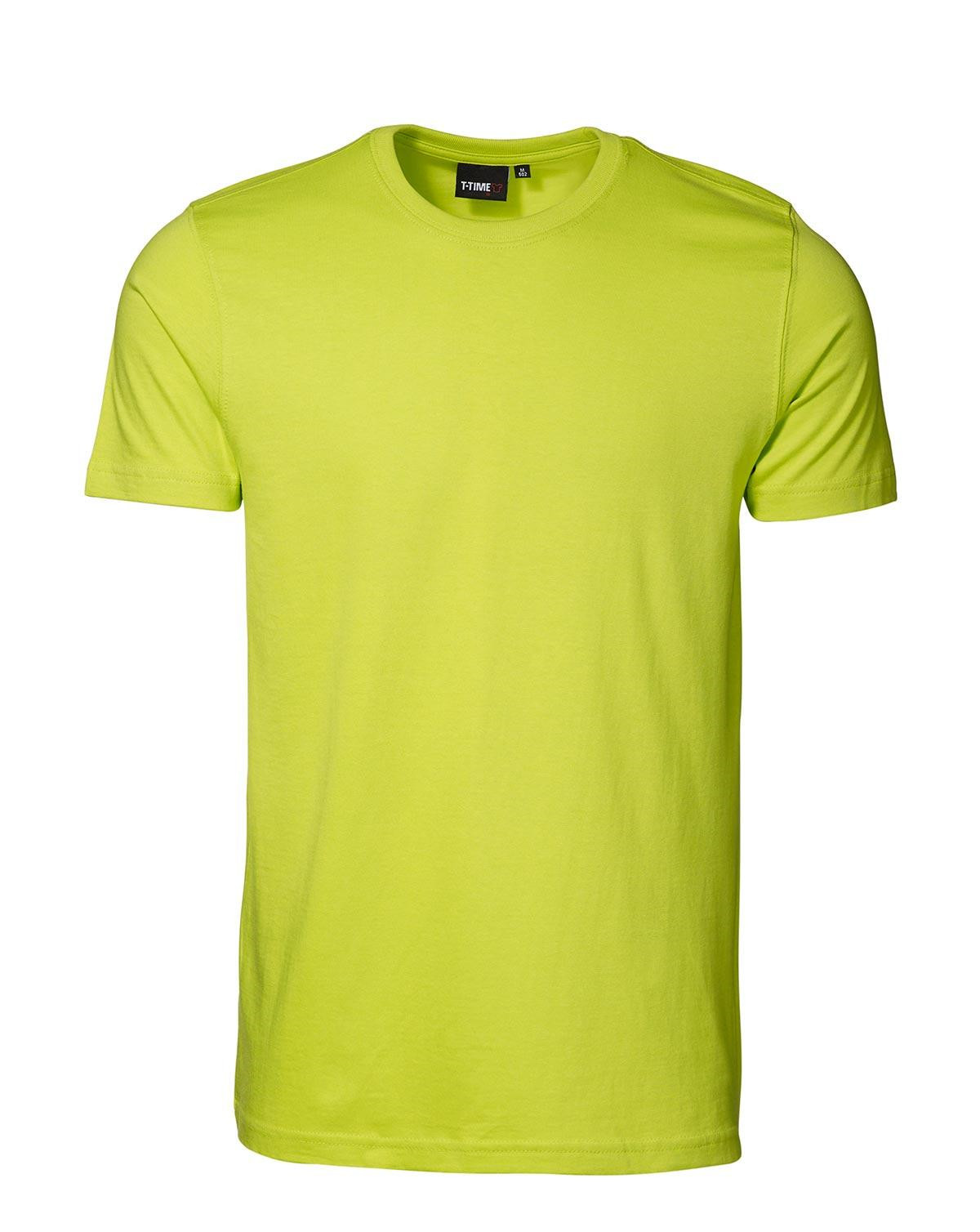 ID T-shirt, Sporty-Fit (Lime, XL)