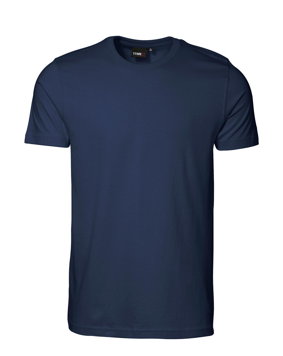 ID T-shirt, Sporty-Fit (Navy, XL)