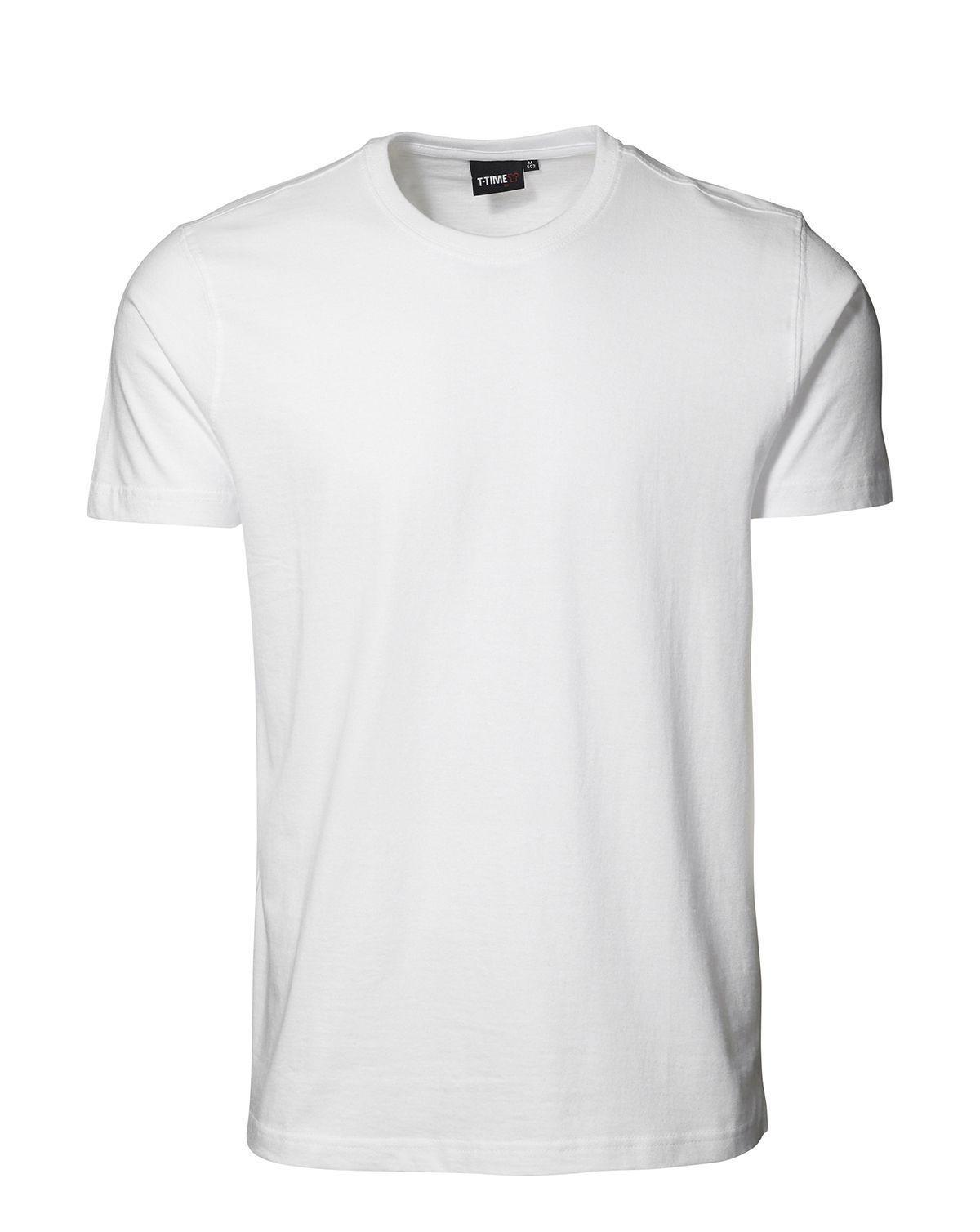 ID T-shirt, Sporty-Fit (Hvid, M)
