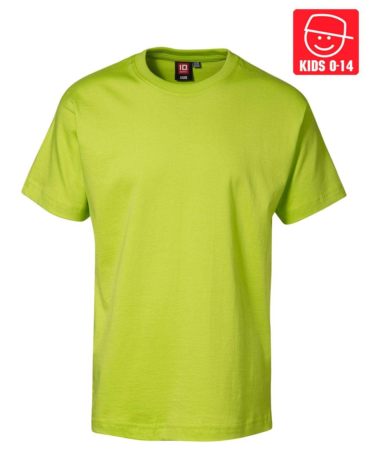 Image of   ID T-shirts (Lime, 128)