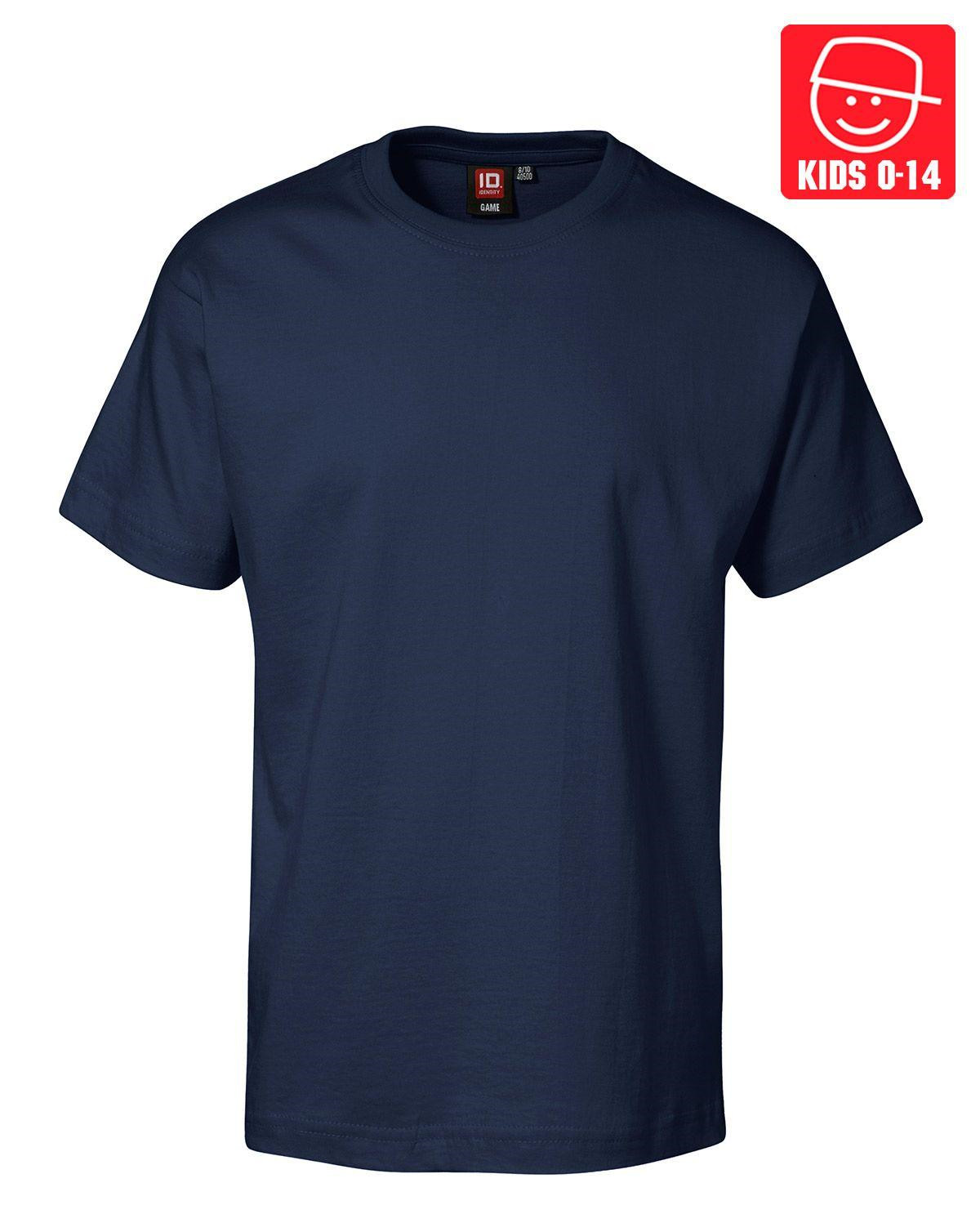 Image of   ID T-shirts (Navy, 116)