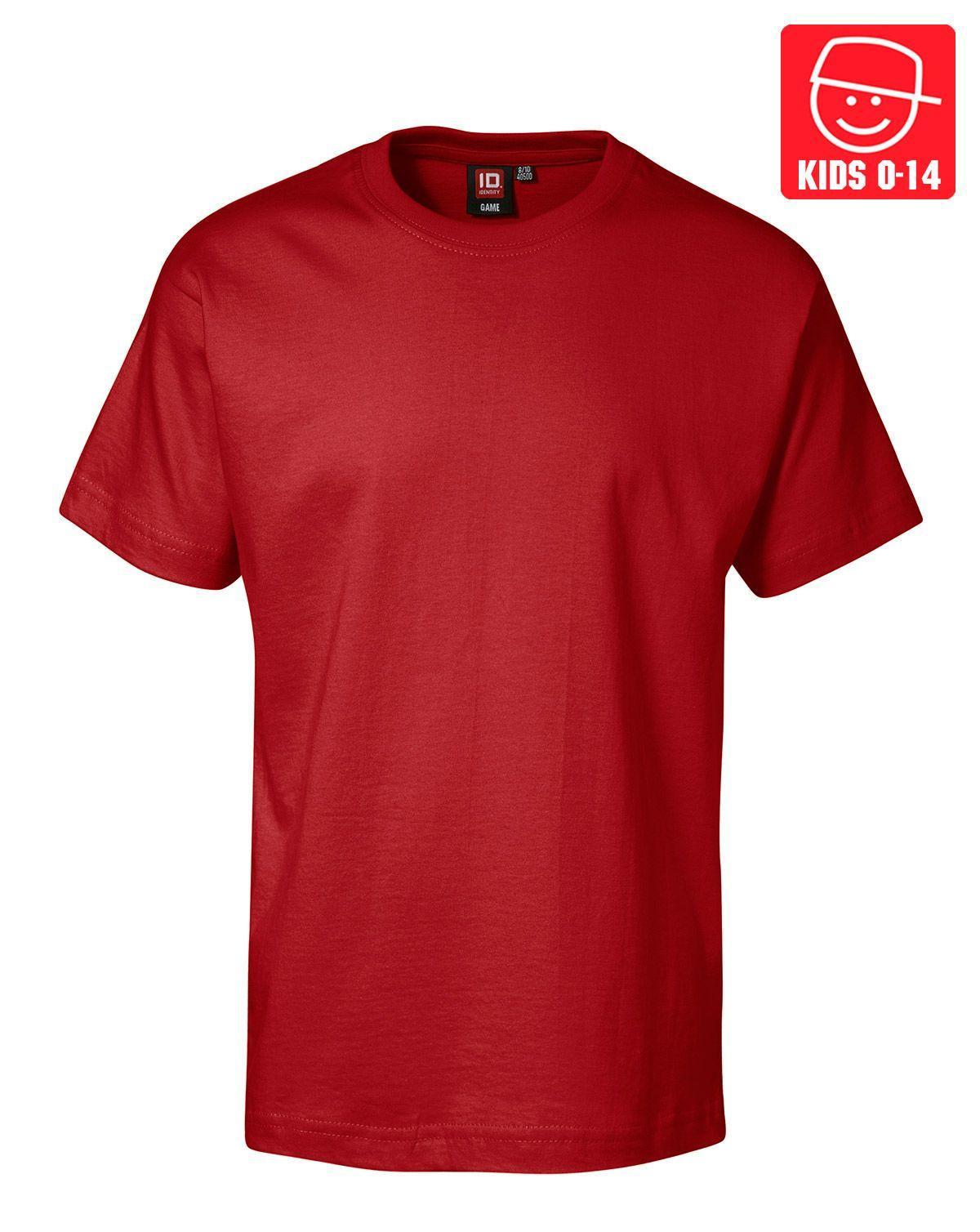 Image of   ID T-shirts (Rød, 116)