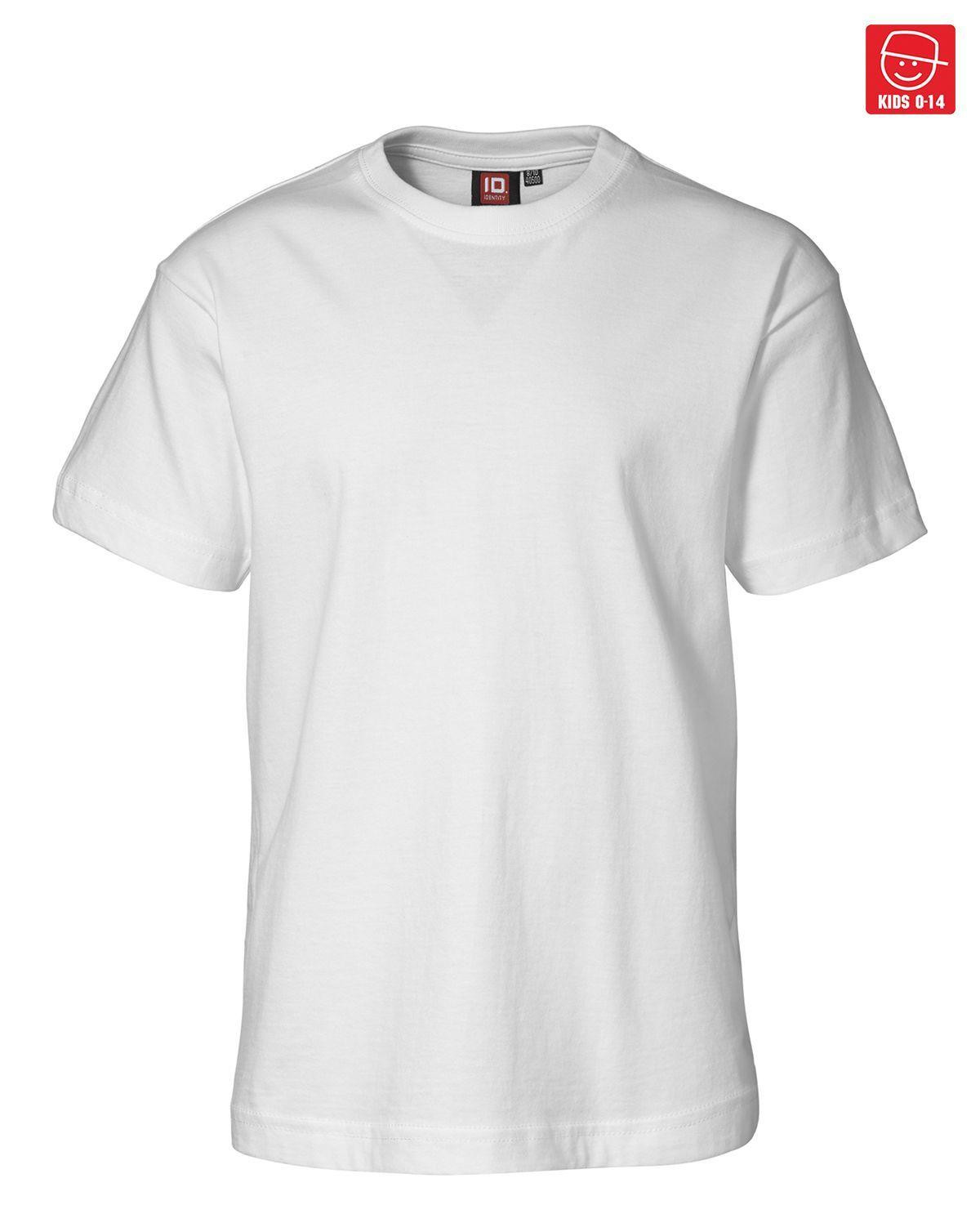 Image of   ID T-shirts (Hvid, 116)