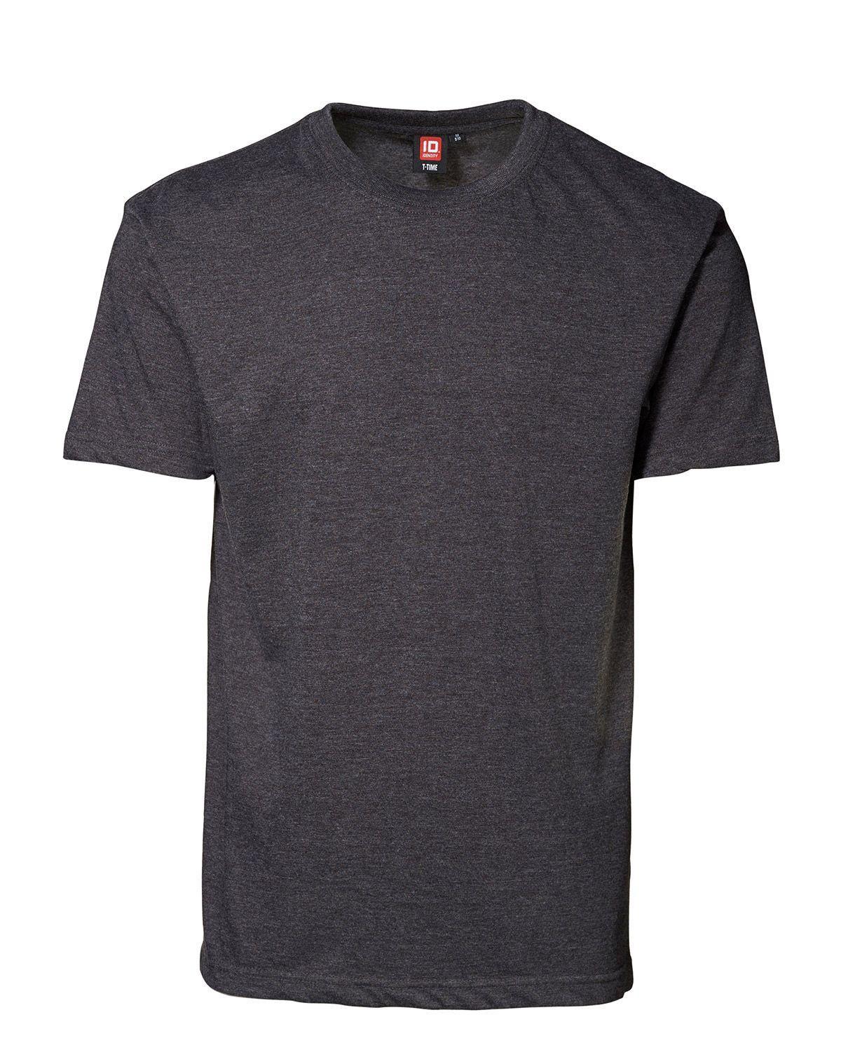 ID T-Time T-shirt, rund hals (Antracit, 4XL)