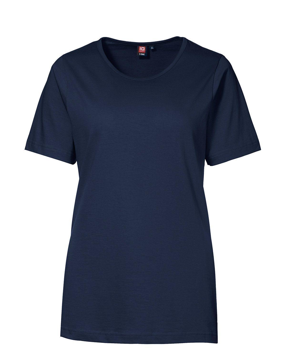 ID T-TIME T-shirt til Kvinder (Navy, 3XL)