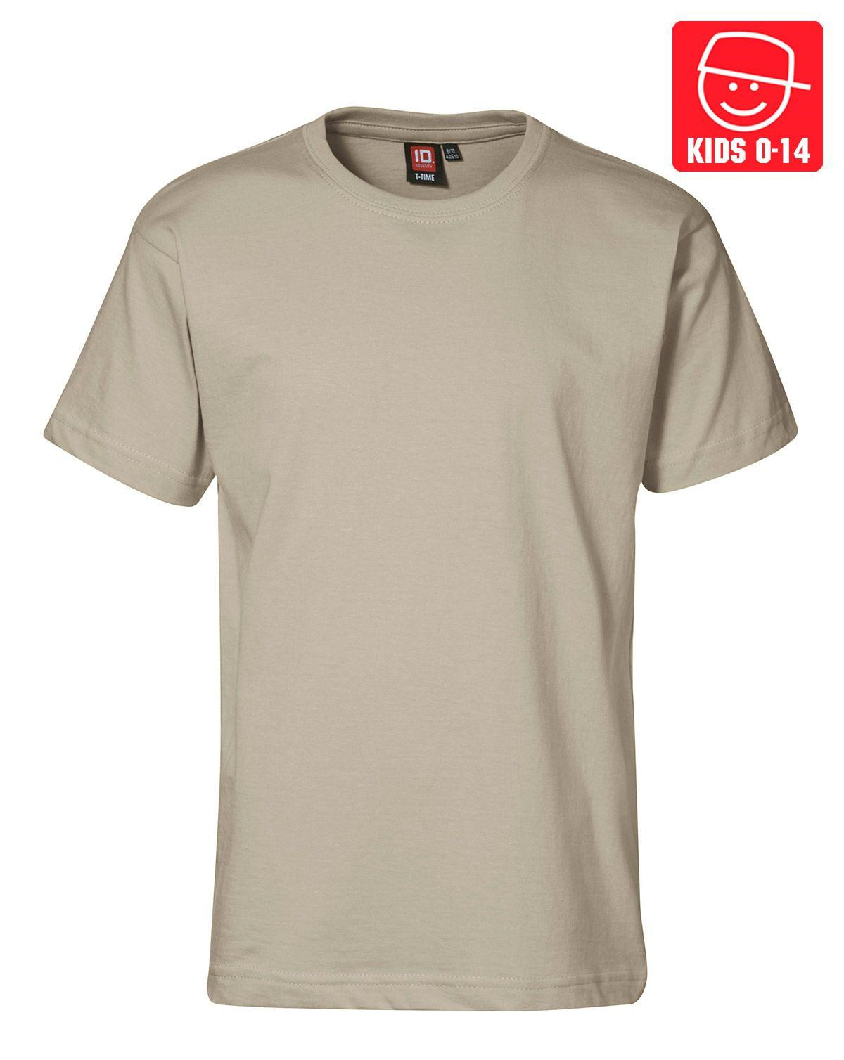 Image of   ID T-TIME T-shirt (Khaki, 128)