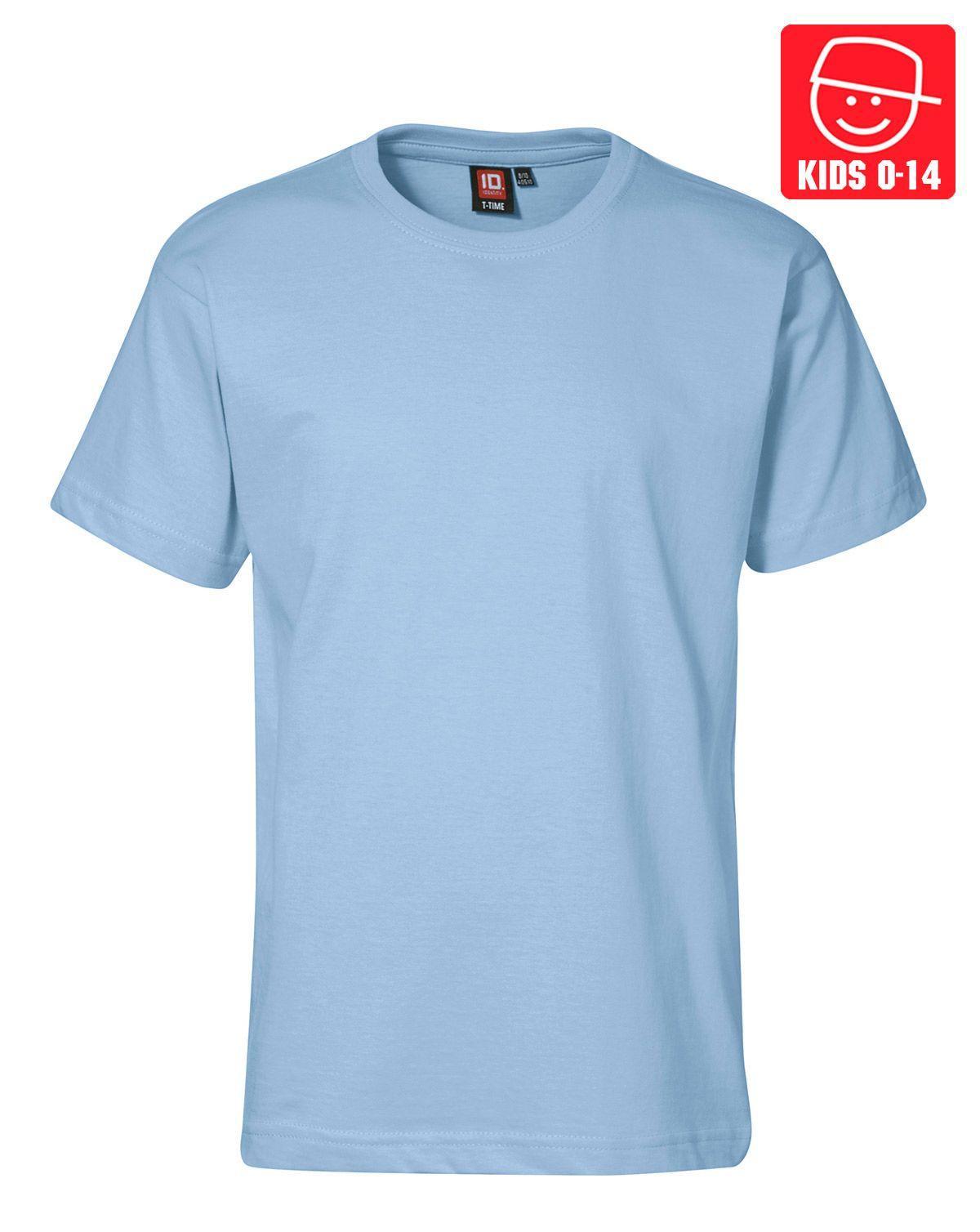 Image of   ID T-TIME T-shirt (Lyseblå, 122)