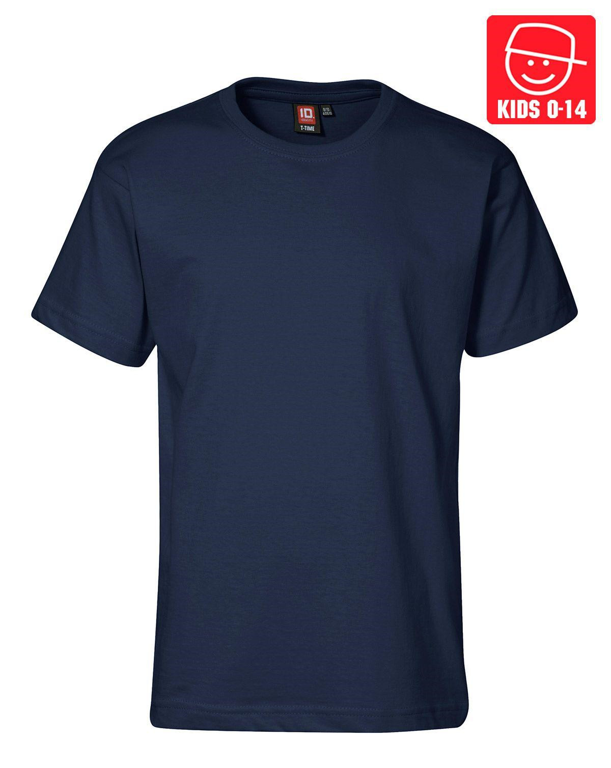 Image of   ID T-TIME T-shirt (Navy, 152)