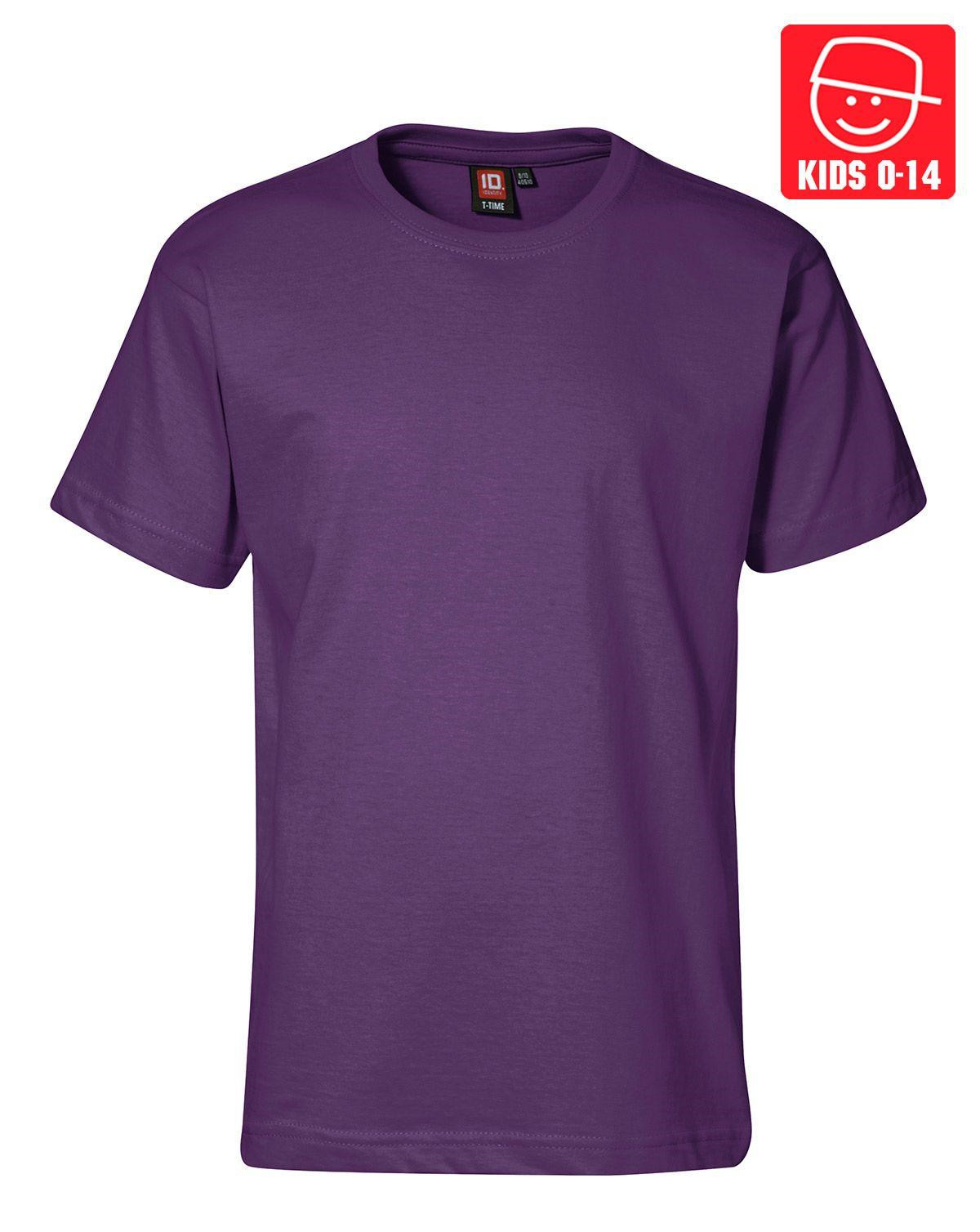 Image of   ID T-TIME T-shirt (Lilla, K122)