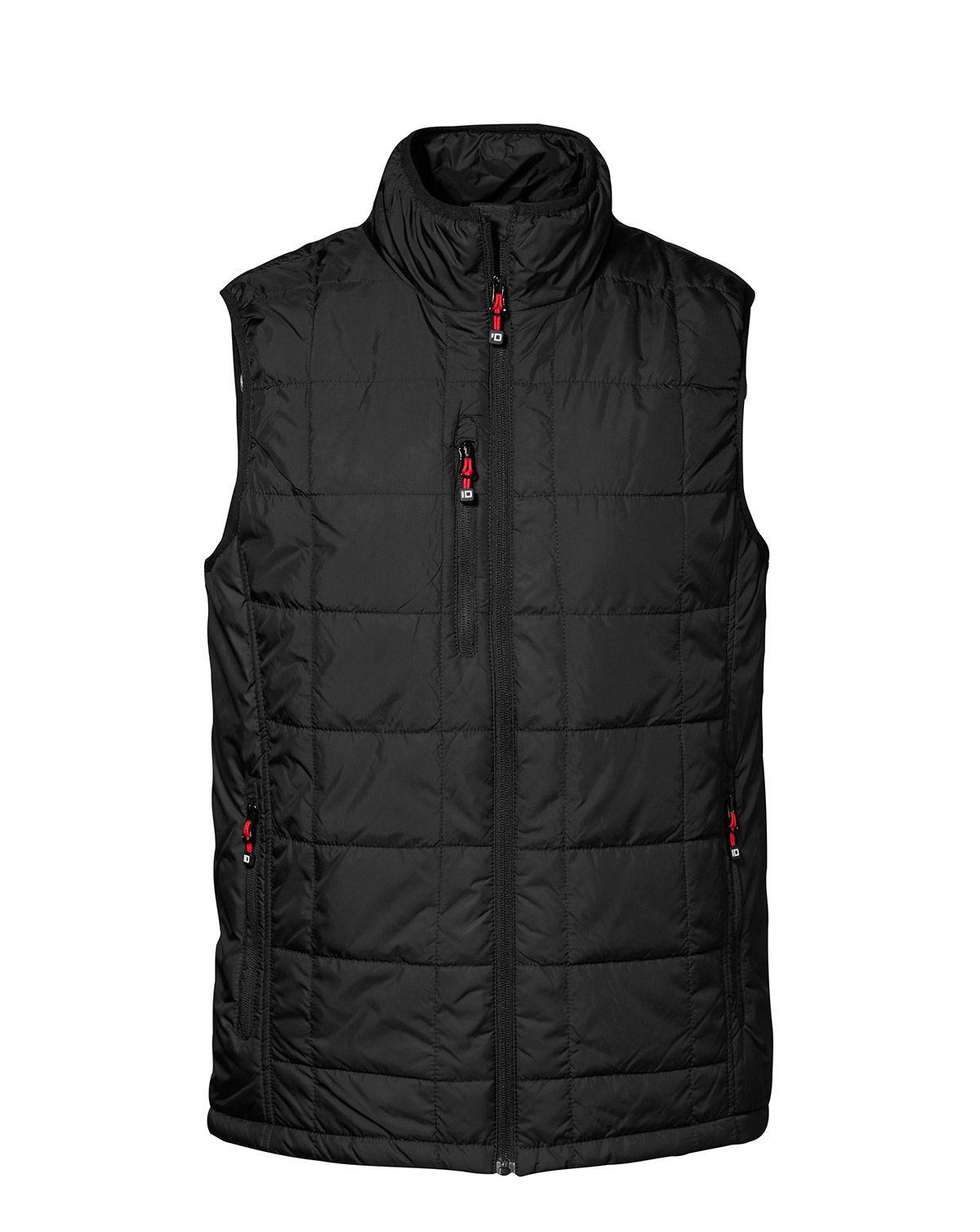 Image of   ID Vatteret Vest (Sort, 3XL)