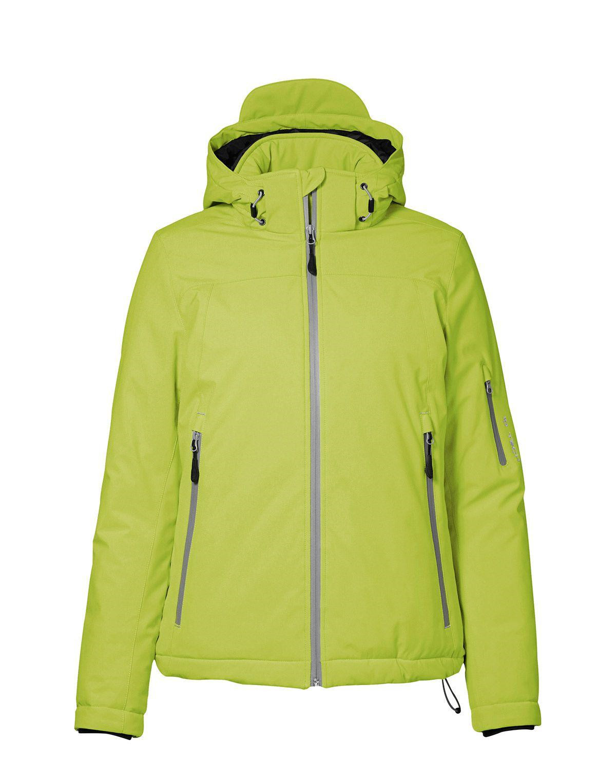 ID Vinter Softshell Jacka - Dam (Lime, XL)