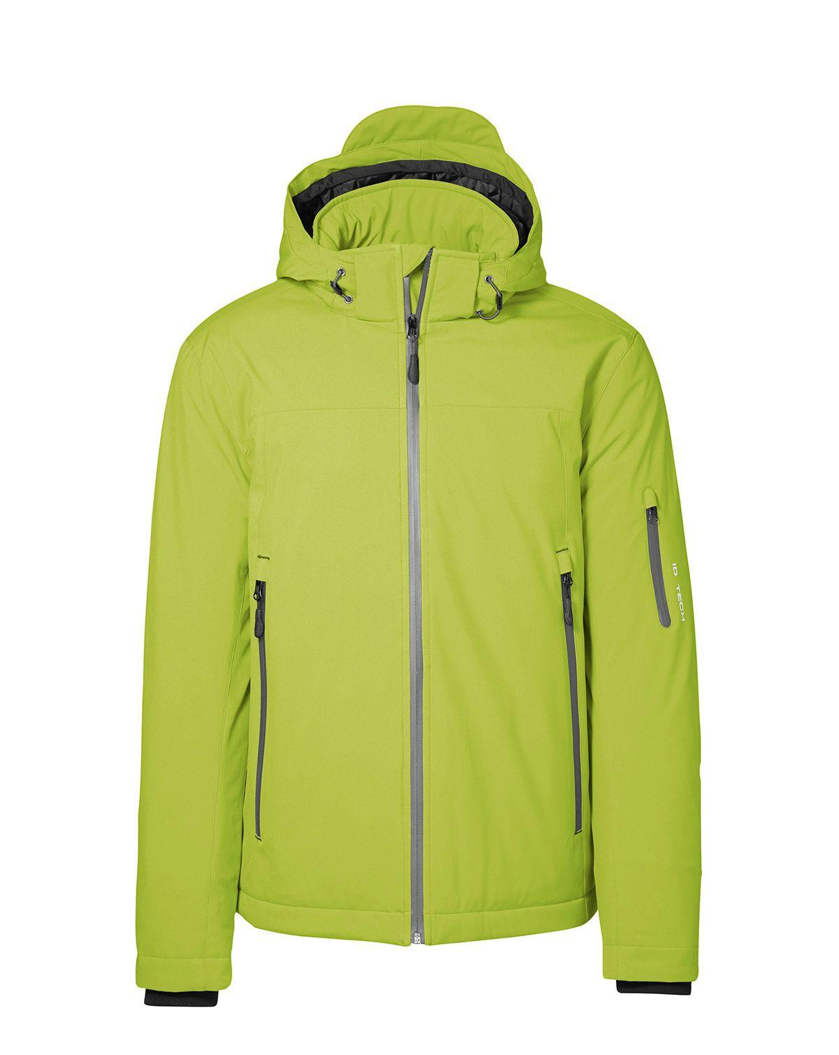 ID Vinter Softshell Jacka (Lime, XL)