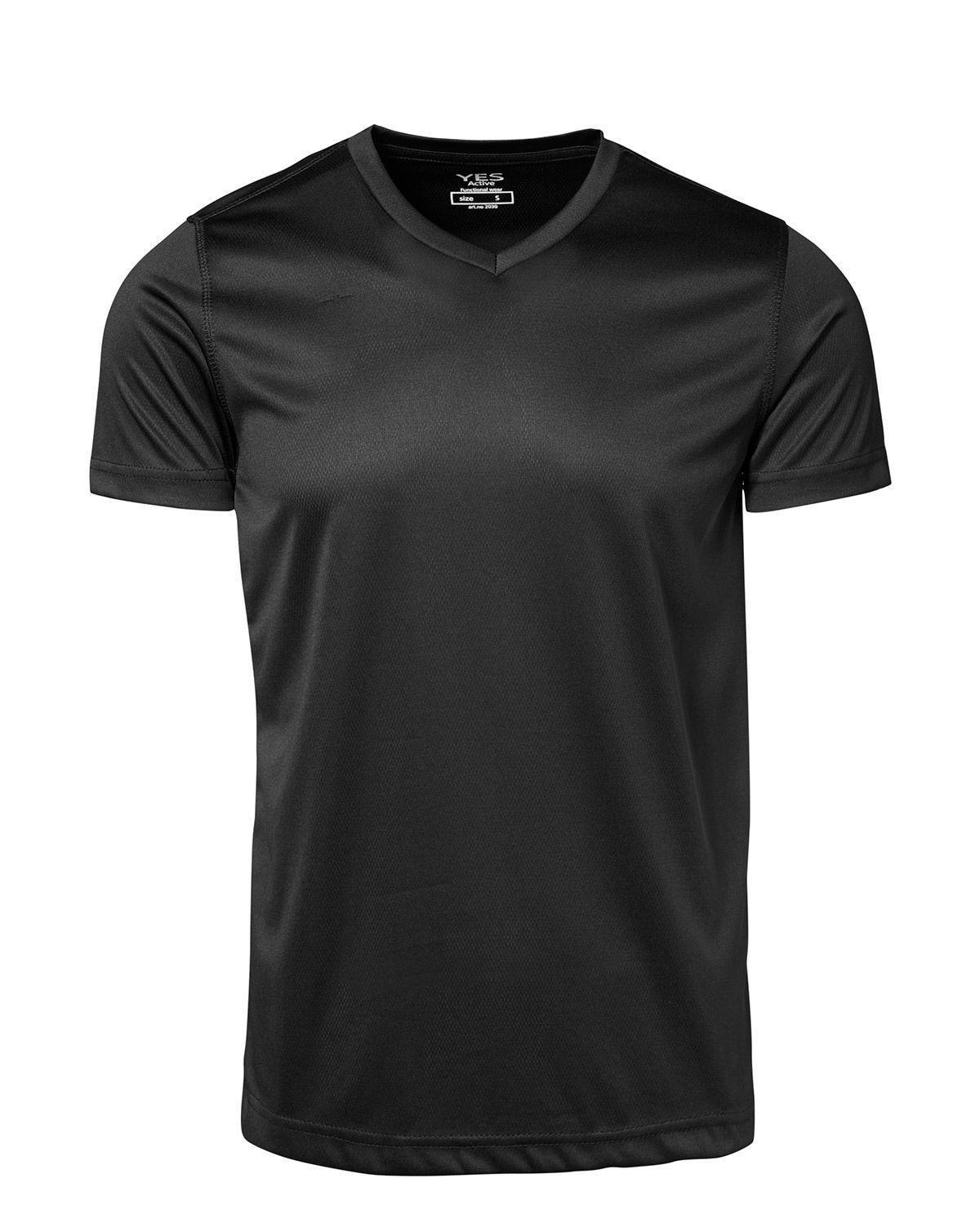 ID YES Svedtransporterende T-shirt (Sort, 2XL)