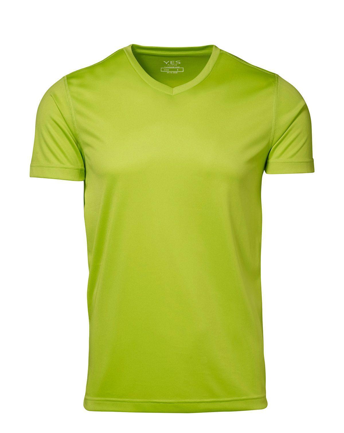 ID YES Fukttransporterande T-shirt (Lime, XS)