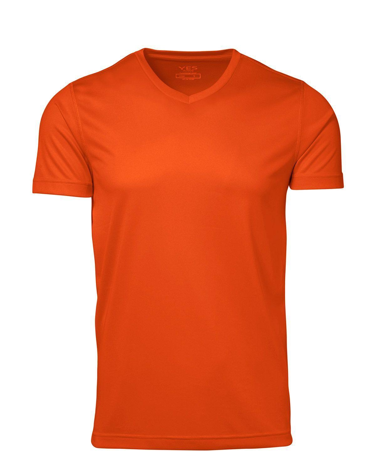ID YES Svedtransporterende T-shirt (Orange, 2XL)