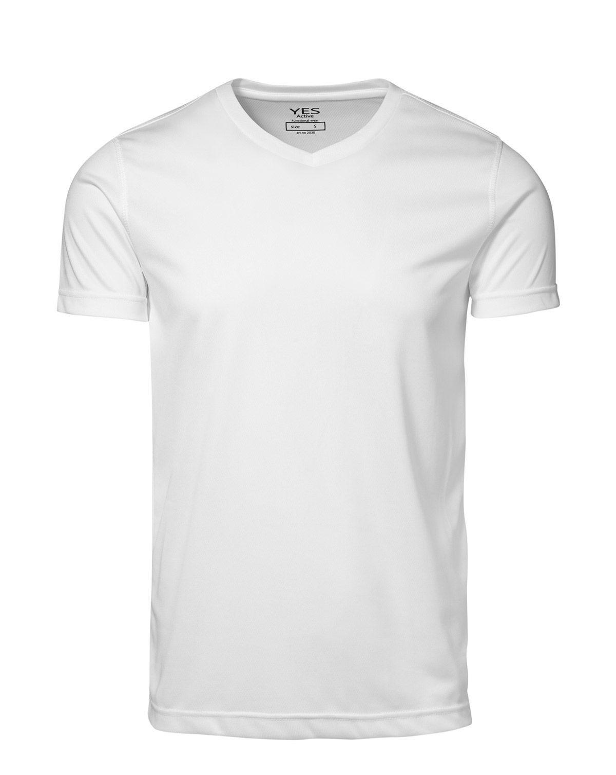 ID YES Svedtransporterende T-shirt (Hvid, 2XL)