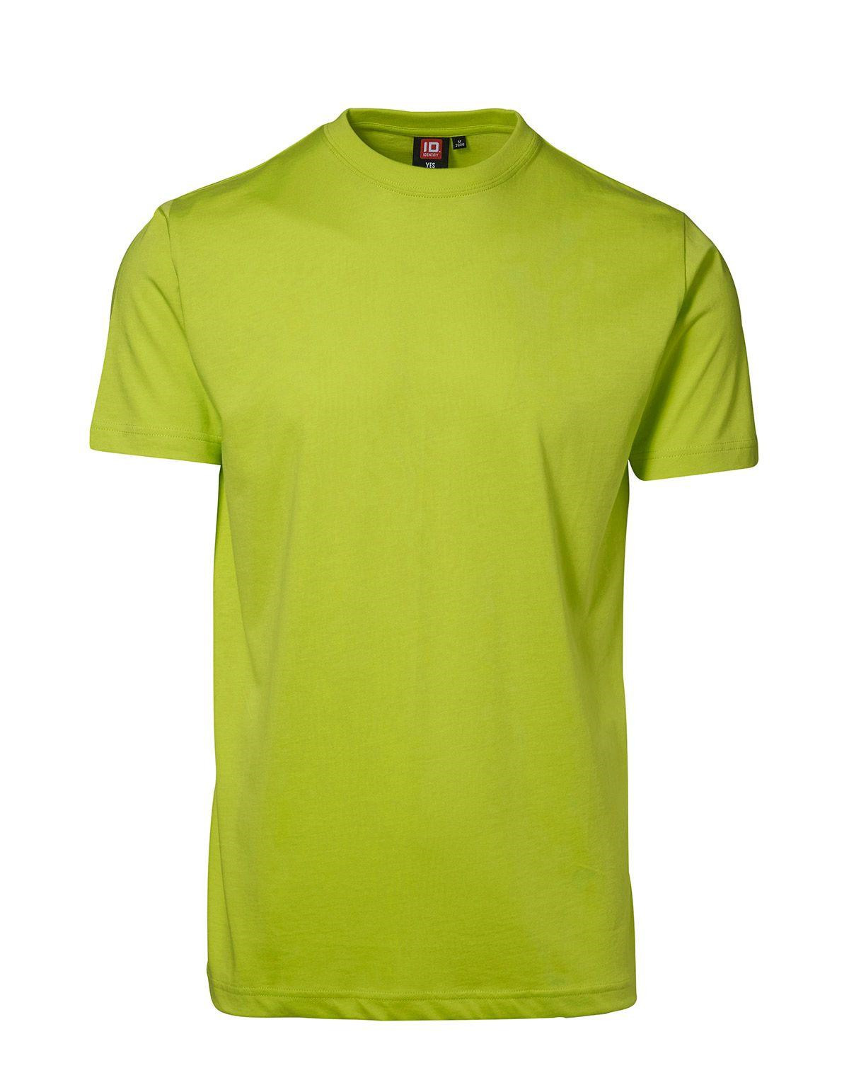 ID YES T-shirt (Lime, XL)