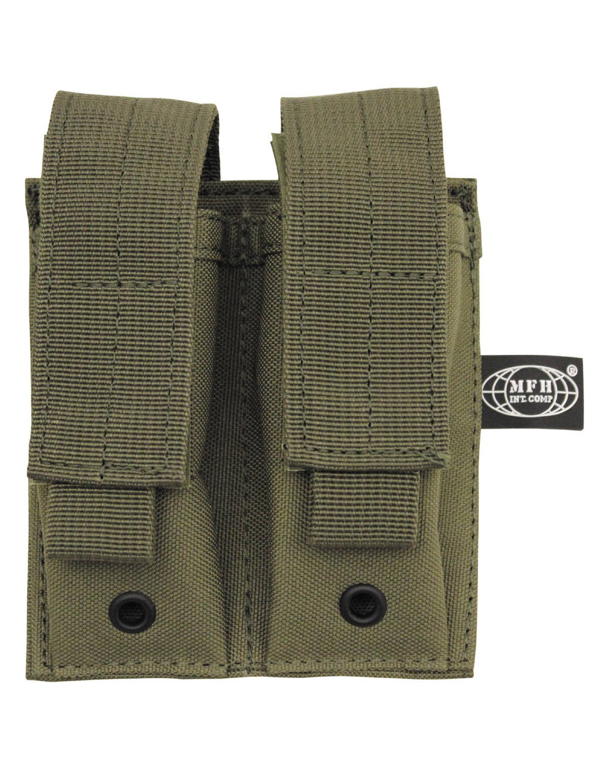 Image of   MFH Double Pouch (Oliven, One Size)