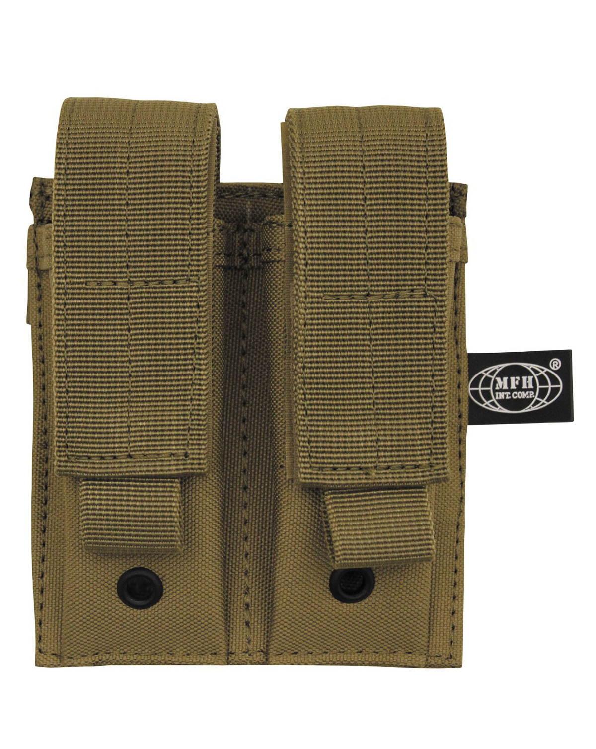 Image of   MFH Double Pouch (Coyote Brun, One Size)