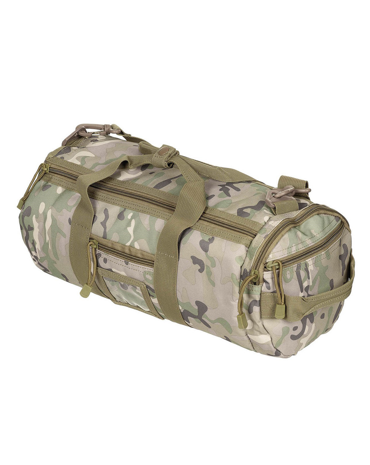 Image of   MFH MOLLE Duffel Bag (Multi Camo, One Size)