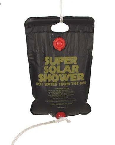 Image of   MFH Solar shower - 10 Liter (Sort, One Size)
