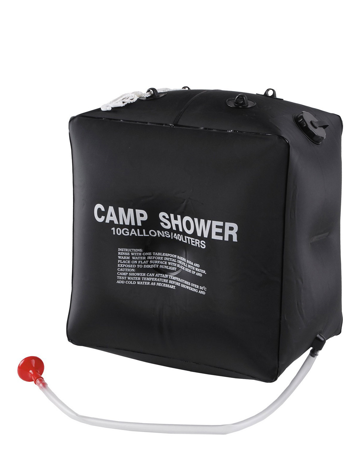 Image of   MFH Solar shower - 40 Liter (Sort, One Size)