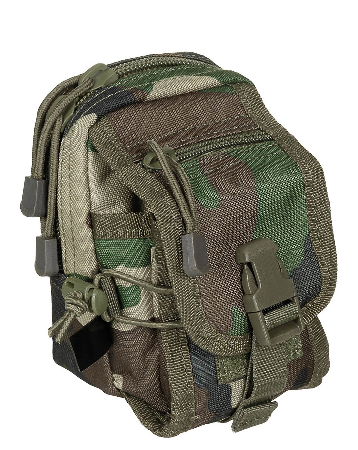 Image of   MFH Utility Flap Pouch (Woodland, One Size)