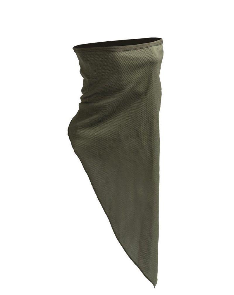 Image of   Mil-Tec Ansigtsmaske / Halsrør (Oliven, One Size)