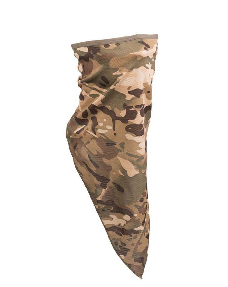 Image of   Mil-Tec Ansigtsmaske / Halsrør (Multi Camo, One Size)