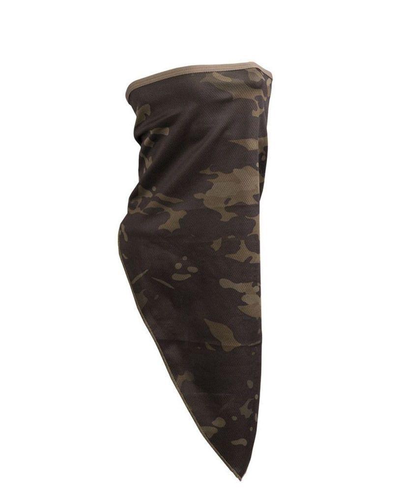 Image of   Mil-Tec Ansigtsmaske / Halsrør (Dark Camo, One Size)