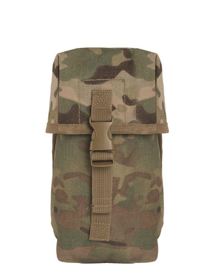 Image of   Mil-Tec Brit.-Style Canteen Pouch (Multi Camo, One Size)