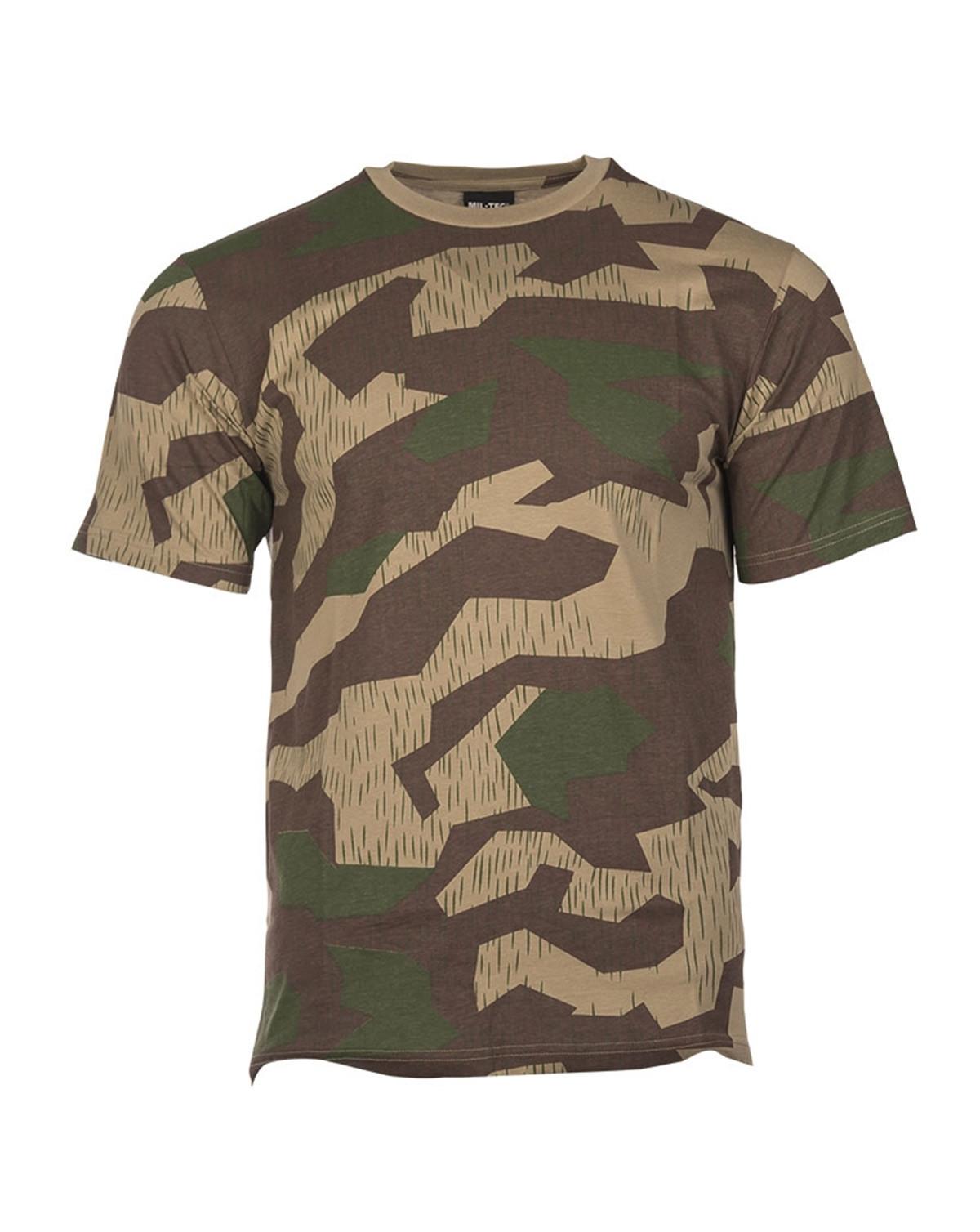 Mil-Tec Camouflage T-shirts (BGS tarn, S)