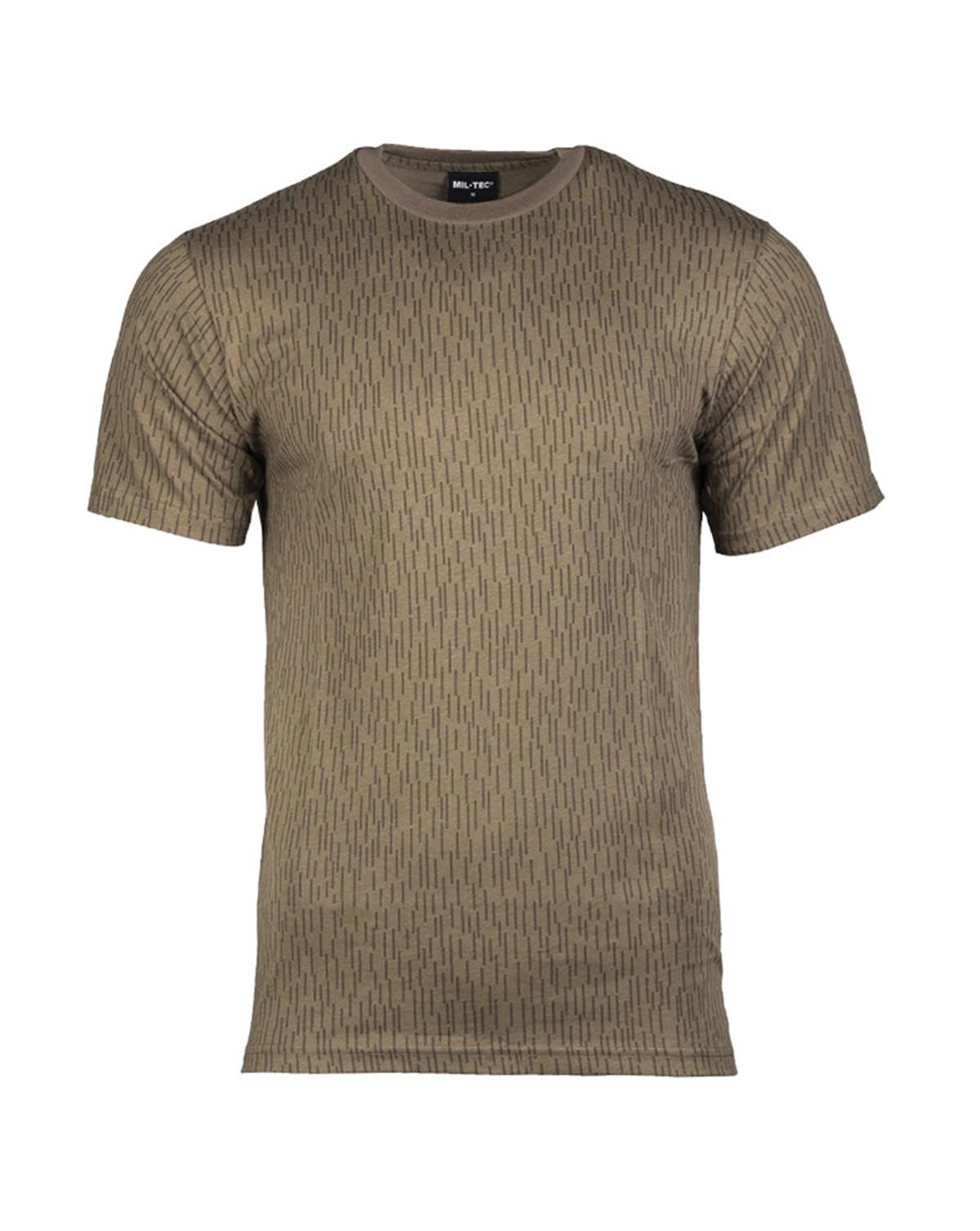 Mil-Tec Camouflage T-shirts (NVA Strichtarn / Regnvejrscamo, S)