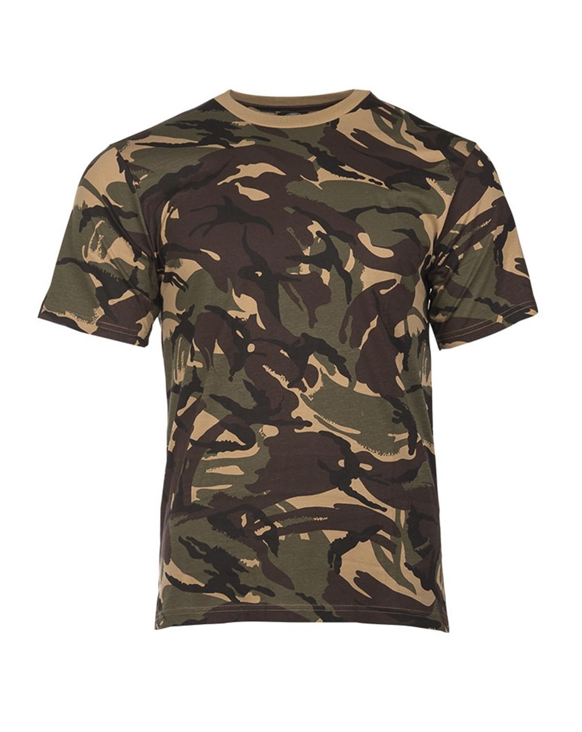 Mil-Tec Camouflage T-shirts (Britisk DPM, S)